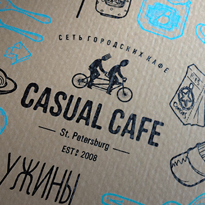 Casual cafe