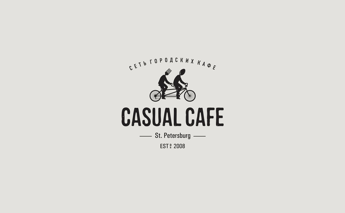 Логотип Casual cafe